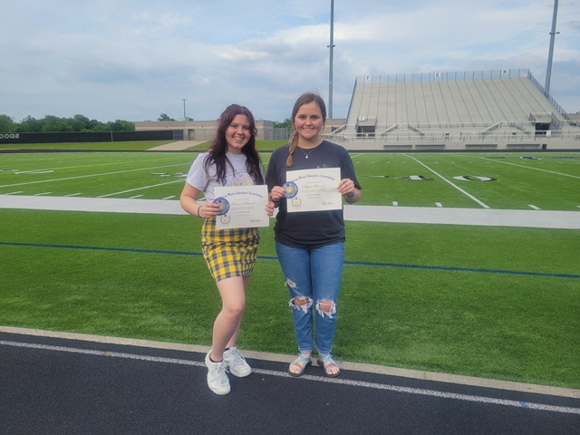 Two Royse City High School students named Texas Music Scholars