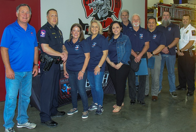 Heath DPS graduates inaugural class of Citizens of Patrol (COP)