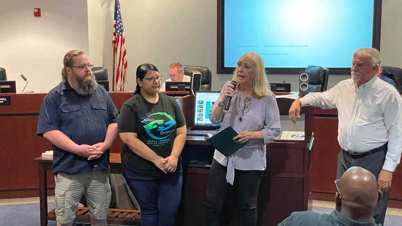 Rockwall city council recognizes Older Americans Month