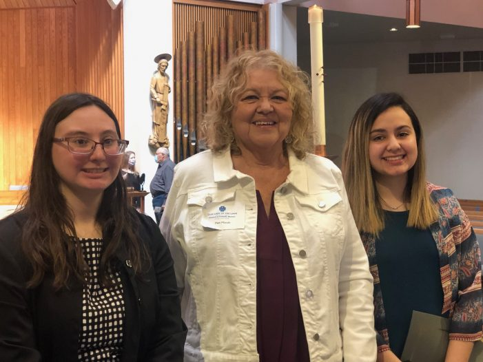Council of Catholic Women, Our Lady of the Lake awards scholarships