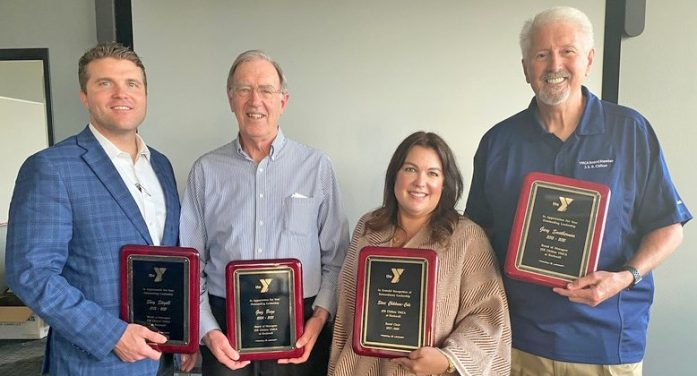 Rockwall YMCA recognizes 2020 Annual Campaign volunteers, departing board members and Larry Parks Service Award winner