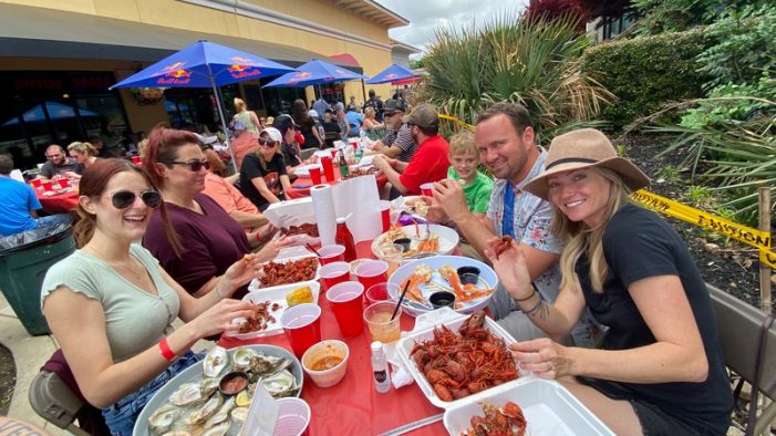 Dodie's Cajun Diner raises big bucks for Angel Campers with 7th Annual Crawfish Fest