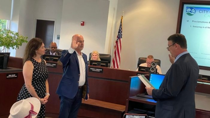 Rockwall city council members sworn in, new Mayor Kevin Fowler outlines goals for the city