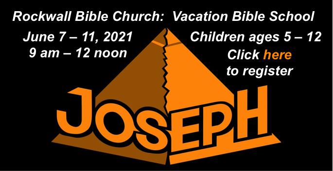 Rockwall Bible Church to host Vacation Bible School June 7-11
