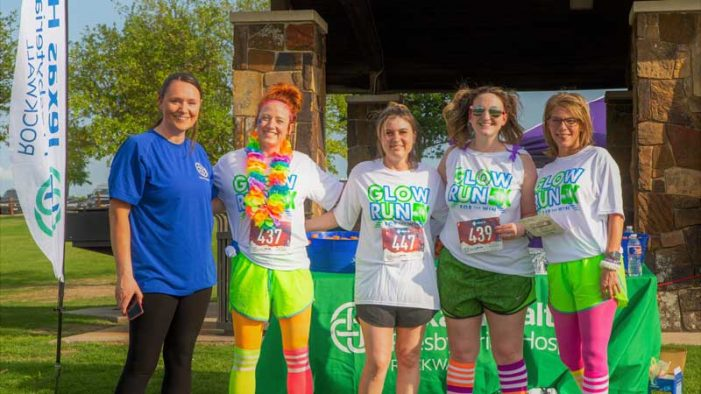 Rockwall GLOW Run for the WIN 5K shines bright for victims of family violence