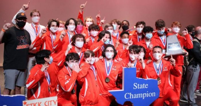 Rockwall High School Boys Gymnastics Team wins state championship