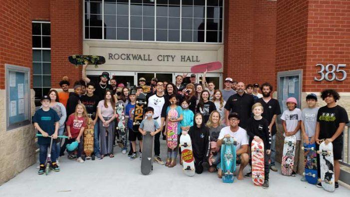 Rockwall skatepark gets huge support at Parks and Recreation Board meeting
