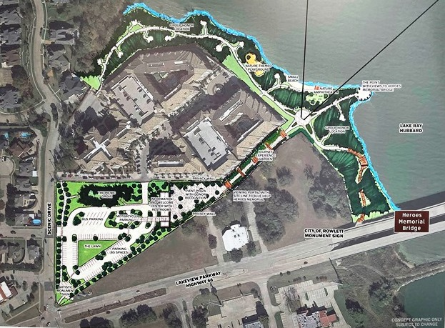 Heroes Bridge Memorial Park in Rowlett envisioned to be first of its kind in U.S.