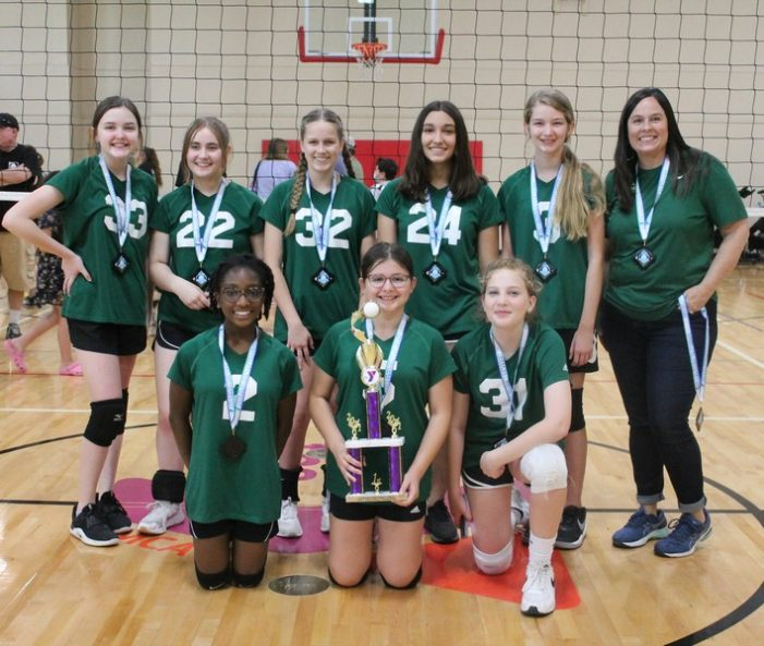 Rockwall YMCA crowns volleyball champs and caps off spring season with an ace