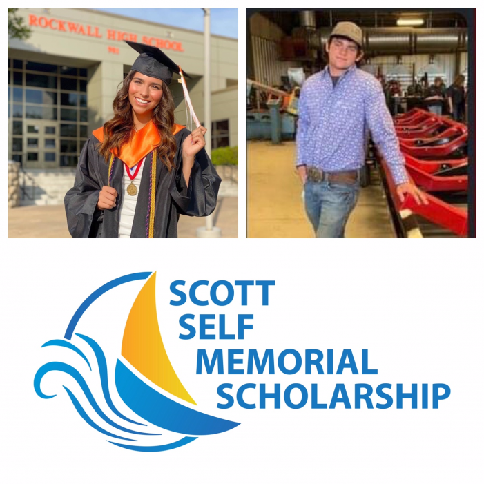 Self family and Rockwall ISD Education Foundation award trades scholarships to local grads