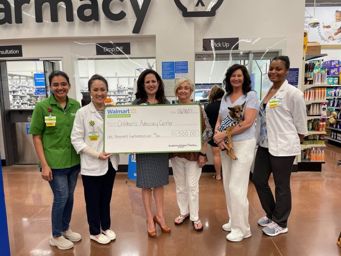 Walmart Neighborhood Market gives back to two Rockwall organizations during Health & Wellness Day of Giving