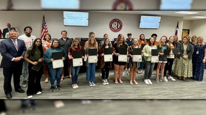 Rockwall ISD School Board tours Lupe Garcia Elementary, recognizes students, reviews proposed bond projects and more