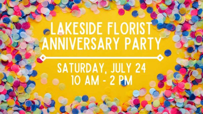 Lakeside Florist in Rockwall celebrates anniversary at 506 N Goliad