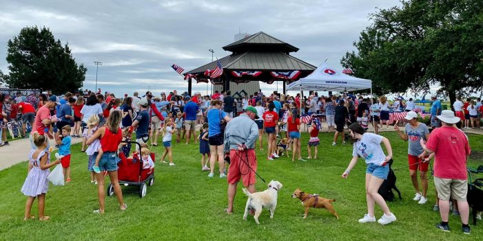 City of Heath celebrates Independence Day with parade and patriotic celebration in the park