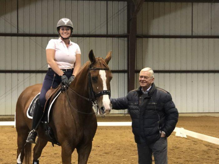 Famed Olympic dressage trainer Johann Hinnemann visits Black Star Sport Horses in Rockwall