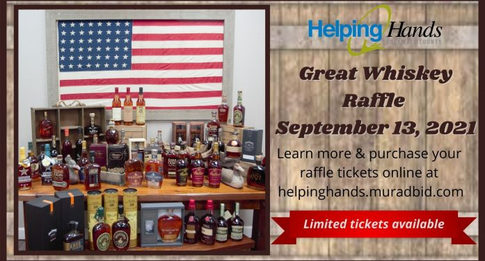 Cheers for Charity: Whiskey raffle to benefit Rockwall County Helping Hands