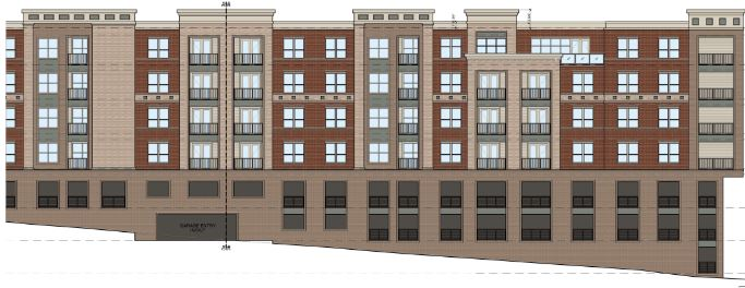 Planning and Zoning Commission approves site plan for Rockwall Downtown Lofts development