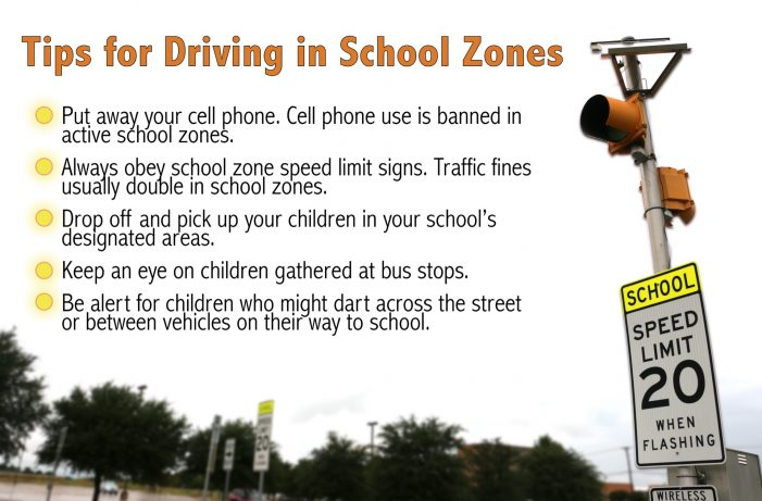 DPS urges drivers to be aware as school year begins
