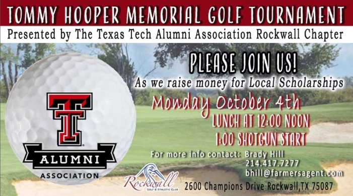 Registration open for Texas Tech Alumni Golf Tournament benefitting Rockwall, Heath graduating seniors
