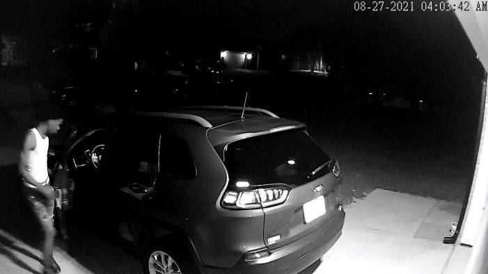 Royse City Police Department seeks help identifying car burglary suspects