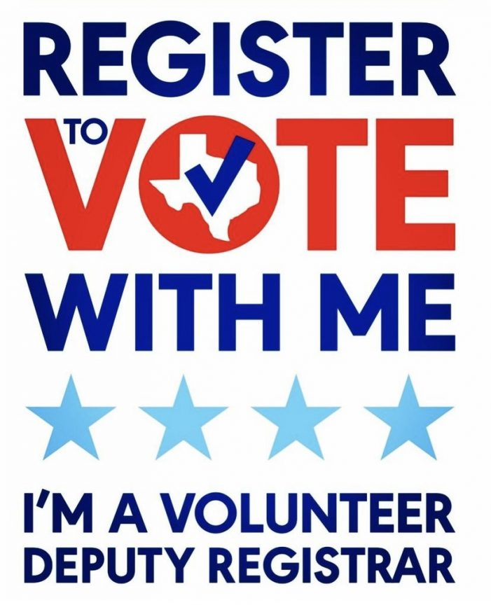Volunteer Deputy Registrars go mobile to register community members to vote