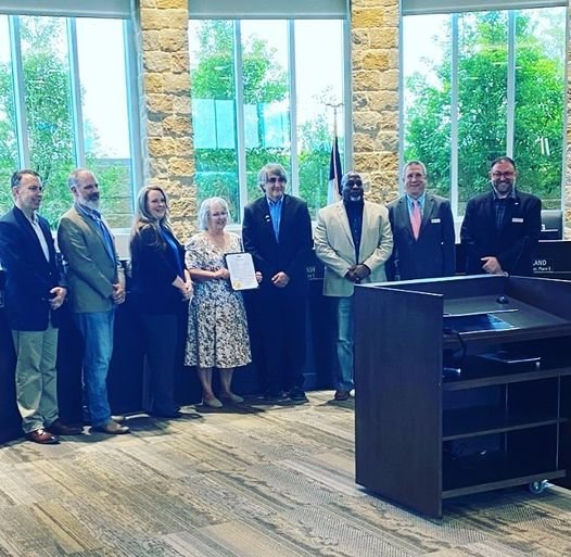 Fate City Council honors Meals on Wheels congregate site manager with proclamation