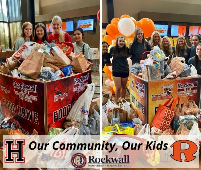 Community urged to help 'Pack the Pantry' in Rockwall ISD's Toyota Food Drive Challenge