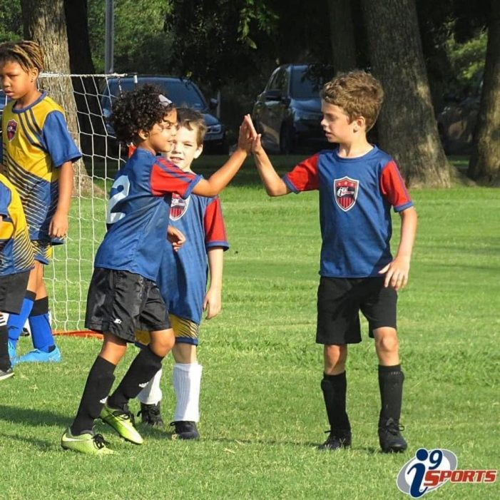 Registration underway for i9 Sports recreational soccer, flag football, baseball, basketball