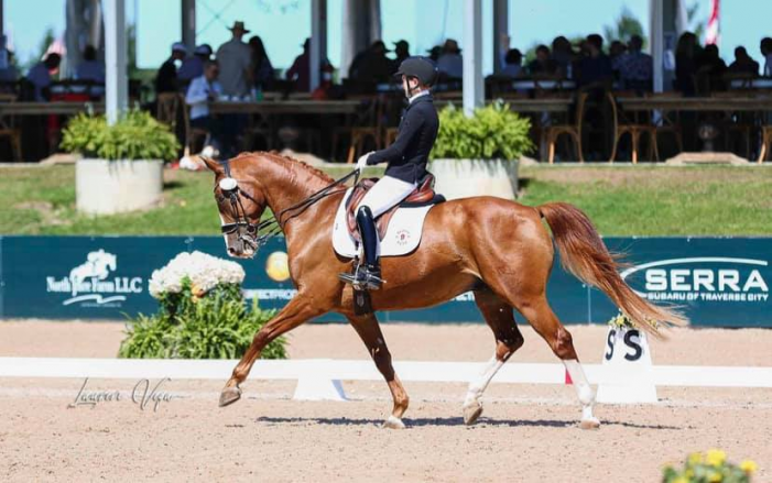 Local equestrian places in top 10 at North American Youth Championships