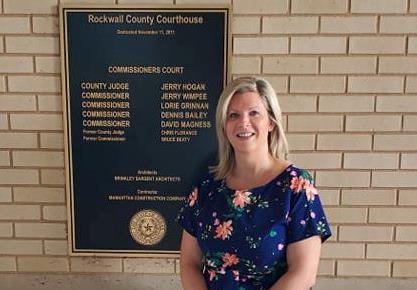 Jennifer Fogg announces candidacy for Rockwall County Clerk