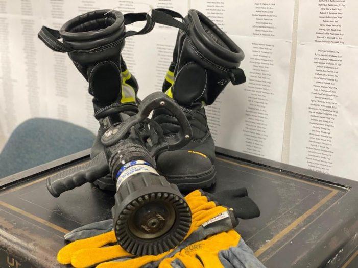 City of Rockwall Utility, Billing & Payroll Departments create 9/11 memorial