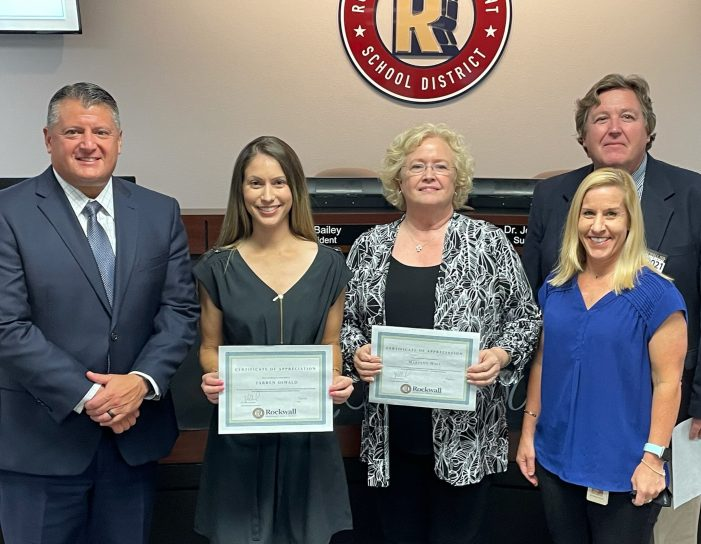 Rockwall ISD Board of Trustees: Recognitions, Temporary Parent-Led K-6 Virtual Option, COVID testing update and more