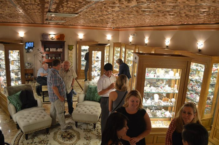 Brunch and Minerals Tour benefiting Rockwall County Historical Foundation