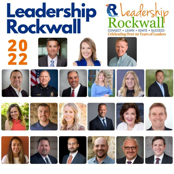 Rockwall Area Chamber of Commerce kicks off Leadership Rockwall 2022