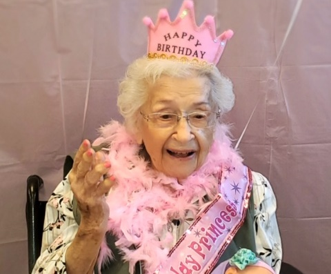 Special celebration for Rockwall resident who turned 105 today