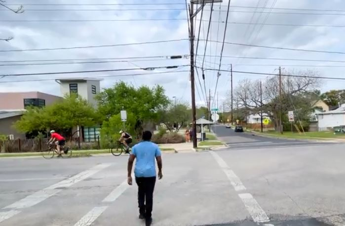TxDOT launches its 'Be Safe. Drive Smart'pedestrian & bicyclist campaign