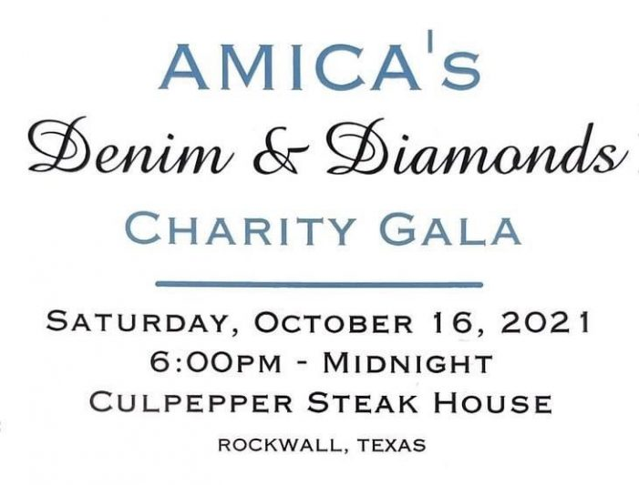 Tickets available for AMICA Rockwall's Denim & Diamonds Gala