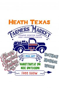 Heath Farmers Market Fall 2021 @ Towne Center Park