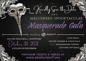 2021 Boys & Girls Club Masquerade Gala @ Hilton Dallas / Rockwall Lakefront