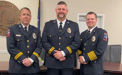 Heath Department of Public Safety Sergeant Keven Rowan promoted to Captain