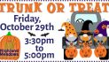 Families welcome for Halloween fun at Trunk-or-Treat event Oct. 29 at Highland Meadows-Rockwall