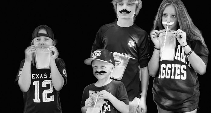 'Mustache Gang' launches lemonade stand at Rockwall's Rib Rub to support charity
