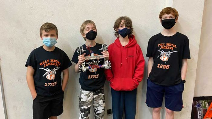 Rockwall Robotics Half Metal Jackets team partners with Empower 7 to give back to teens in need