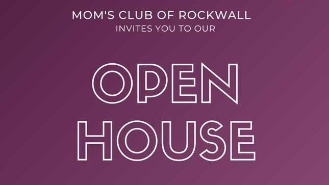 Mom's Club of Rockwall invites community to Open House Nov. 10th