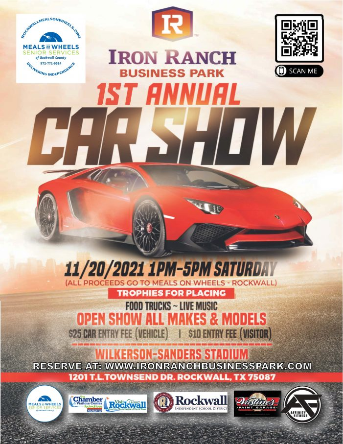 Car Show coming to Wilkerson-Sanders Stadium to benefit Rockwall Meals on Wheels