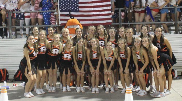Rockwall High School cheerleaders to host cheer clinic