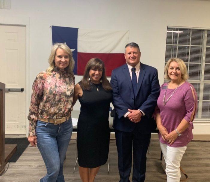 Rockwall County Republican Hispanic Club welcomes Dr. V with RISD bond presentation